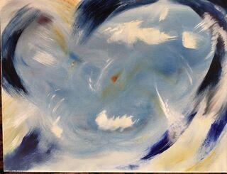 original oil painting, Frank John Ninivaggi, 2020