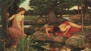 Echo and Narcissus by John William Waterhouse/Wikimedia Commons, public domain