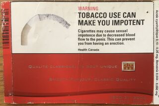 Photo by David Ley, of Canadian public health material