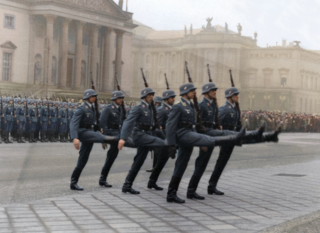 Luftwaffe Parade by Cassowary Colorizations/Flickr, CC by 2.0.