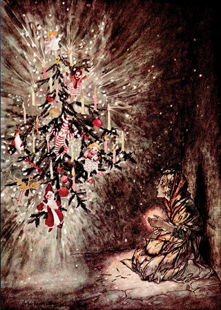 Fairy Tales by Hans Christian Andersen. George G. Harrap, London. 1932/Public Domain