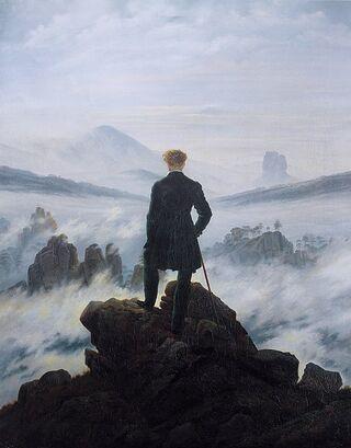 Caspar David Friedrich/Public domain photo on Wikimedia Commons