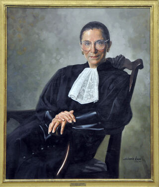 Simmie Knox under commission of the United States Supreme Court/ Public domain