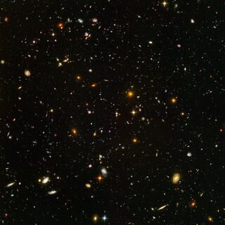 NASA, ESA, and S. Beckwith (STScI) and the HUDF Team/Public Domain