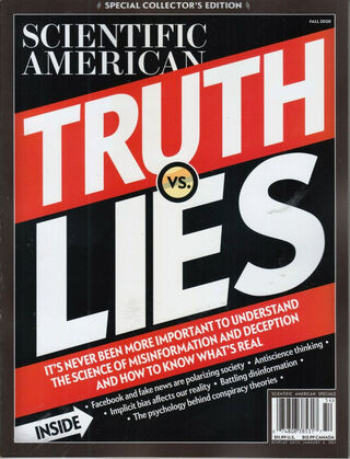 Scientific American, cover of special issue being reviewed here; used with permission