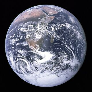 Public Domain By NASA/Apollo 17 crew; taken by either Harrison Schmitt or Ron Evans