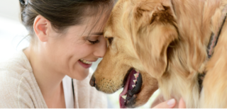 """""""Newly Released Study Reveals Health Benefits of Emotional Support Animals"""", with permission."""