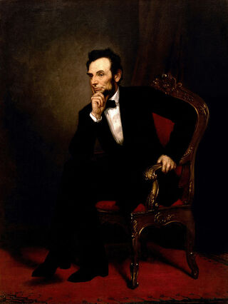 Abraham Lincoln, by George Peter Alexander Healy, 1969/Wikimedia Commons, Public Domain