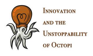 Bulb Octopus Network Logo by JinKbad/DepositPhoto