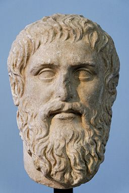 Bust of Plato, Wikimediacommons.org, public domain