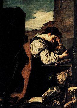 "Domenico Fetti, ""Melancholy,"" Wikimedia Commons, Public Domain"