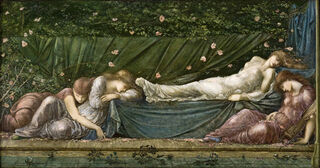Painting by Edward Coley Burne-Jones, photo via Wikimedia Commons