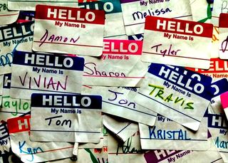 """""""Hello My Name Is (15283079263)""""/Travis Wise/Wikimedia Commons/CC BY 2.0"""
