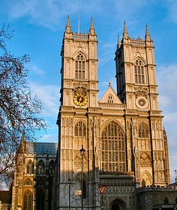 Westminster Abbey, Public Domain, Wikimedia Commons.org