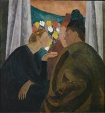 https://www.wikiart.org/en/vanessa-bell/conversation-1916