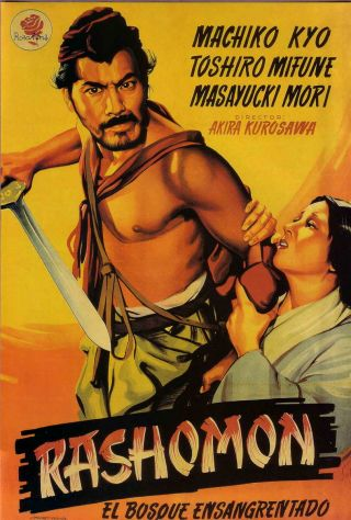 Rashomon is a famous film on different versions of reality