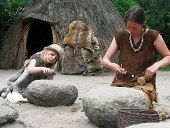 Neolithic family by Hans Spelter