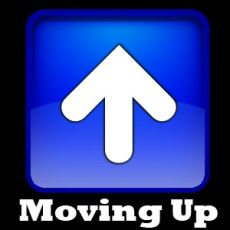 Moving Up arrow