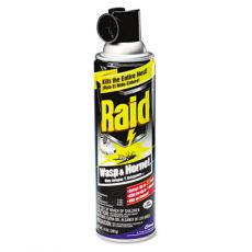 Raid wasp spray