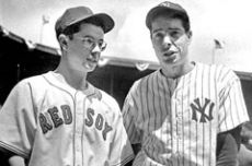 Dom and Joe Dimaggio