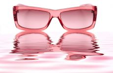 Rose colored-glasses