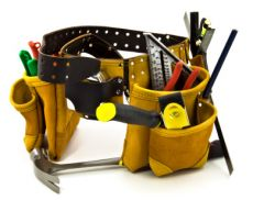Carpenter's tools.
