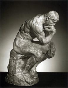 The Thinker, by Rodin