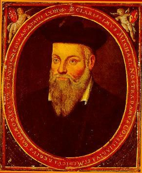 Nostradamus claimed he could see into the future.