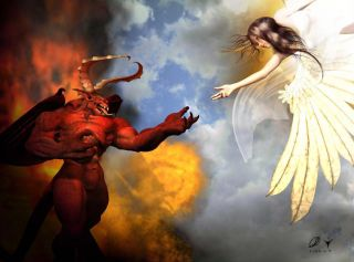 Is love divine and lust demonic?