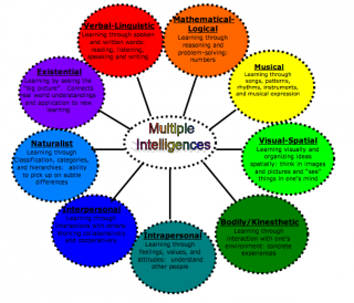 Some people want nine intelligences