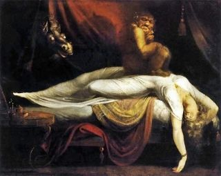 Erotic encounters with supernatural beings often feature in classical art.
