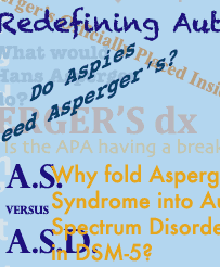 Montage of Asperger's and autism headlines and comments
