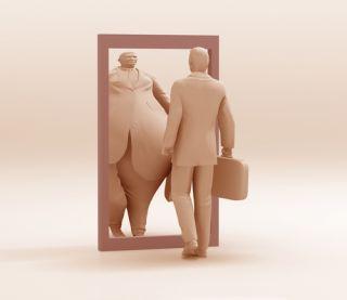 Body image distortion