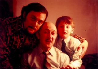 Phil with father George, and son Adam; 1968.