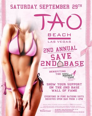 Symbol breast awareness for disease the cancer