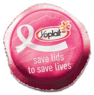 Yoplait Yogurt Save Lids to Save Lives Campaign Pink Lids