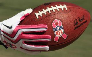 NFL Pink Ribbon Football Gear