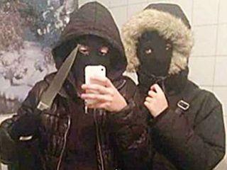 Pre-robbery selfie