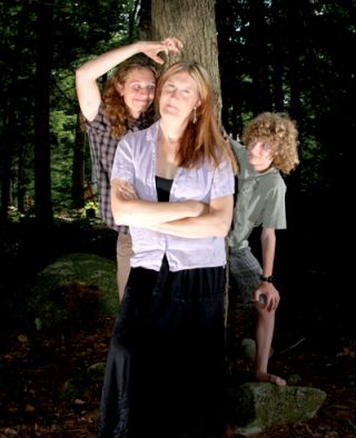 Photo of Jennifer Boylan and her two sons