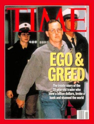 nick leeson case Nick leeson was barings bank's star trader on the singapore international monetary exchage (simex) he regularly reported huge profits in truth though, he was gambling with the bank's money, eventually racking up an astonishing £832 million of losses nick told 5 live daily he always thought he.