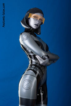 Humanoid robot fetish