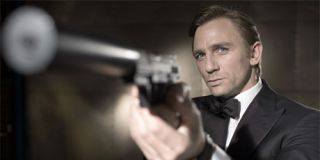 Fictional intelligence agent, James Bond.