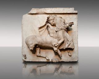 Centaur carrying off Lapith