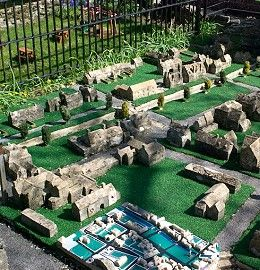 Model of model village