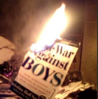 Burning the War Against Boys