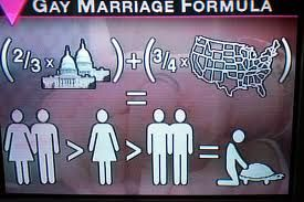 Mathematical formula with government, US map, and people = man sex with turtle