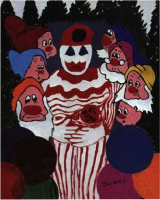 Gacy's clown with seven dwarves