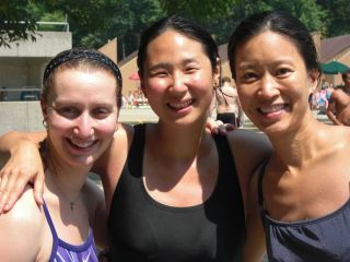Friends after Diving