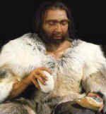 Neandertal stone knapping