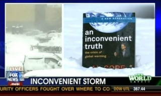 An Inconvenient Truth in a Snowstorm
